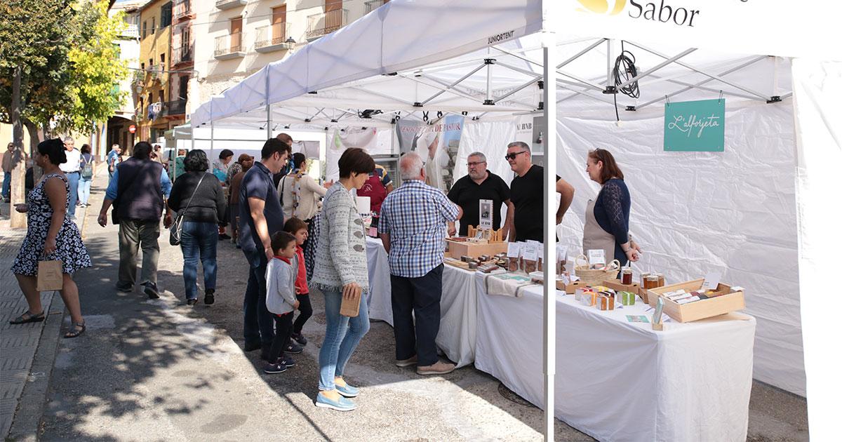 Benabarre, última parada de los Mercados Agroalimentarios del Pirineo